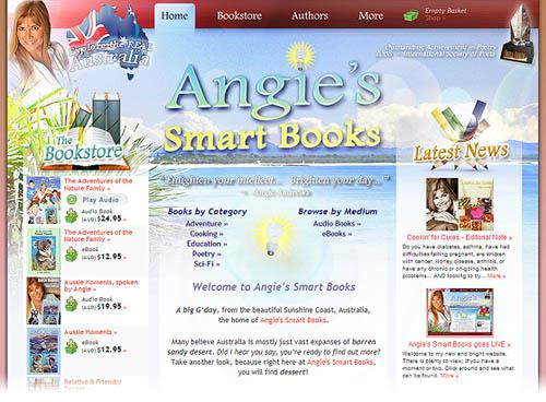 Angie's Smart Books goes LIVE